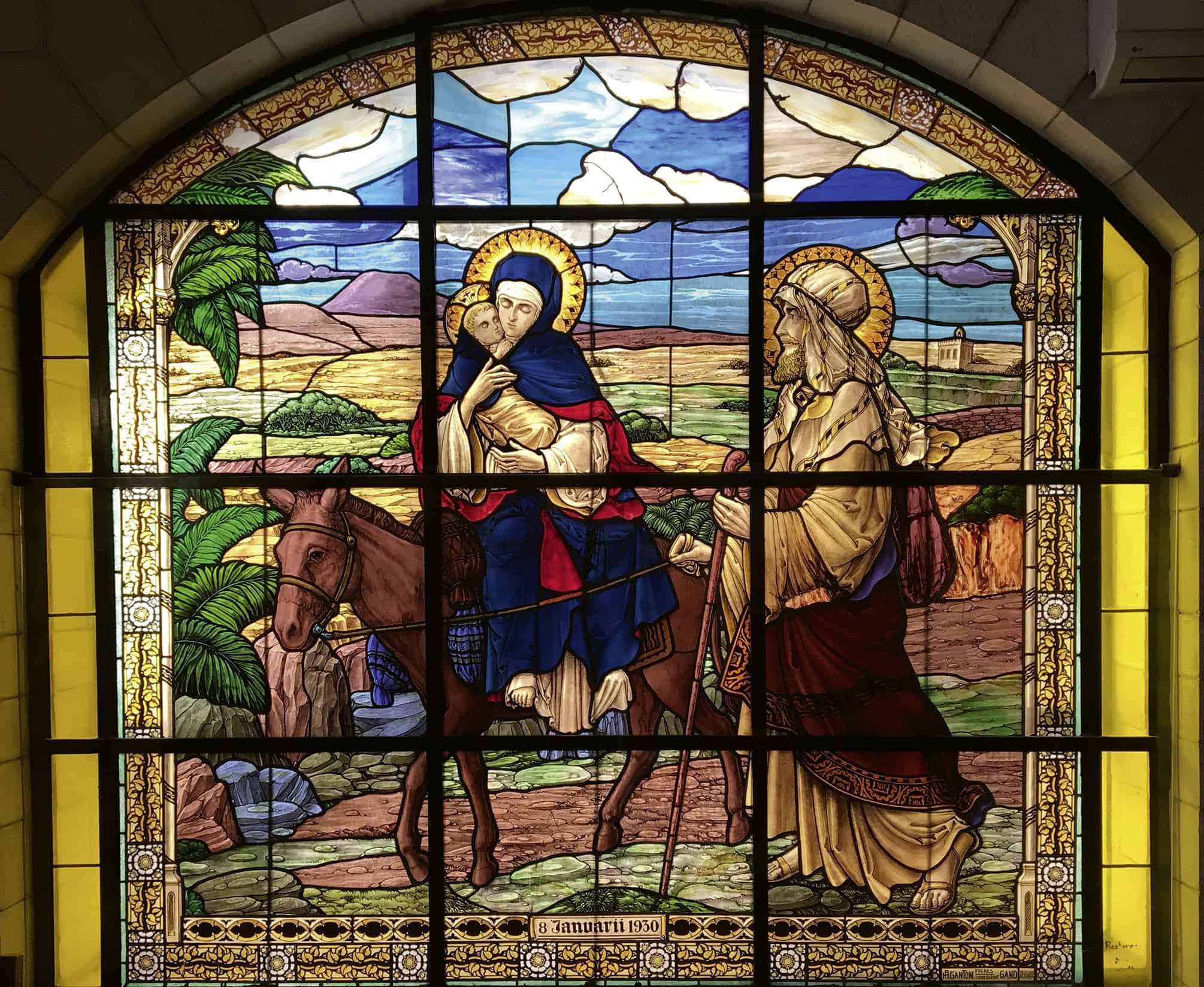 Weihnachten - Maria, Josef, Jesus
